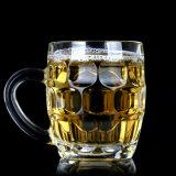 La tazza di birra/birra foggiano a coppa/vetro di birra di vetro certificati iso, il tè, l'acqua, tazza della tazza di vetro di latte per bere