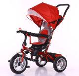 China-neues Modell-Baby-Spaziergänger-Kind-Dreiradsitz kann gedreht werden 360 Grad
