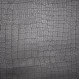 Matt-Krokodil-Muster synthetisches PU-Leder, Faux-Schuh-Leder