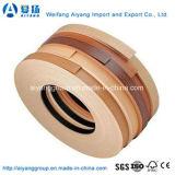 Lame de bord de PVC en bois, bordure de panneaux de 2 mm, bordure de bande de PVC