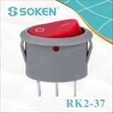 Interruptor de eje de balancín oval de Rk2-37A