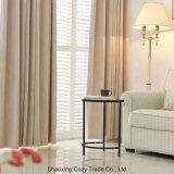 La moda de estilo americano, europeo Blackout cortina de tela de poliéster algodón