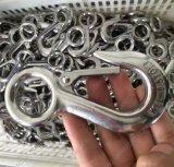 La baisse a modifié le crochet en acier d'émerillon de crochet avec le loquet S322