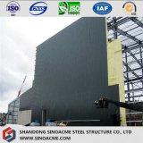 Schweres Stahlrahmen-Gebäude für Worshop mit dem 20 Tonnen-Kran