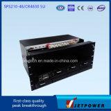 Het Systeem van de Gelijkrichter van Subrack 5u 220VAC/48VDC 210A