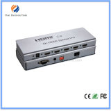 Divisore 1X4 di HDMI 2.0 con la gestione di Edid, estensione di IR, Hdcp 2.2