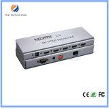 HDMI 2.0 Splitter 1X4 avec Edid Management, extension IR, Hdcp 2.2