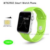 SIMのカードスロットDm09が付いている人間の特徴をもつデジタルスマートな電話腕時計