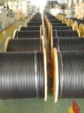 Câble universel en aluminium de 75 Ohm sans soudure avec messager