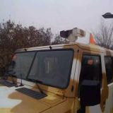 Evidência que recolhe a câmera montada do veículo de fiscalização