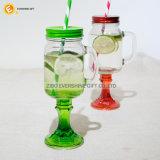 Glasmaurer-Glas des Griff-600ml mit Unterseite
