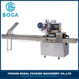 De automatische Verpakkende Machine van het Koekje van het Wafeltje van het Type van Stroom van de Zak van het Hoofdkussen