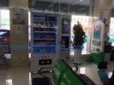 2016 Hot Sell Beverage & Snack Máquina automática de venta con medios con sistema de gestión de backend
