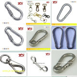Eyeletの高いTensile DIN5299A Galvanized Snap Hook