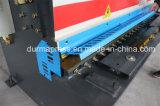 Máquina que pela hidráulica del metal de hoja de la serie de QC12y-4*2500mm, precio hidráulico de la cortadora con E21s