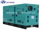 основной генератор 120kw приведенный в действие Cummins тепловозный с звукоизоляционным и погодостойкnIs