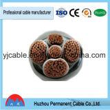 Câble d'alimentation isolé par PVC ignifuge Yjv/Yjlv/VV/Vlv de câble d'alimentation