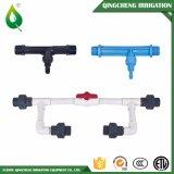 """3/4 """" - 16 """" de mangueira preta agricultural da irrigação da água do PVC Layflat"""