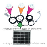 Portable Home Solar cd. Lighting Kit Solar Energy System Kit with UNIVERSAL SYSTEM BUS Cables
