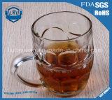 Творческая бессвинцовая прозрачная чашка стекла пива