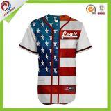 L'équipe 100% de polyester de sublimation Etats-Unis amincissent les ventes en gros en bonne santé du Jersey de base-ball de Cubs