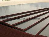 Madeira compensada da película de Brown da madeira compensada da madeira compensada 18mm da construção