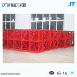 El mejor elevador doble 2017 de la construcción de las jaulas 1t de las exportaciones Sc100/100 de China para la venta