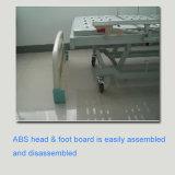 할인 3 기능 안전한 자물쇠 (CE/FDA/ISO)를 가진 수동 병상