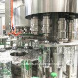 ターンキー完全なプラスチックによってびん詰めにされるミネラル純粋な水満ちるライン