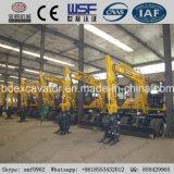 Nuevos máquina de la caña de azúcar del cargamento y excavador de la rueda con el certificado ISO9001