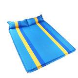 de Dubbele blauw-Gele Blauwe Matras van 2.5cm