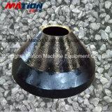 Frantoio idraulico del cono di rendimento elevato, parte di resistenza all'usura