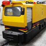 12t AC de Locomotief van de Ondergrondse Mijnbouw van de Frequentie