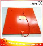 riscaldatore Heated della gomma di silicone della base di 500*500mm per la stampante 3D