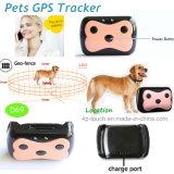 Pet GPS tracker Vente chaude avec une surveillance à distance D69