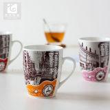 중국 공장은 Custimzed 디자인으로 직접 소유한다 로고 선물 세라믹 차 찻잔을 14 Oz 커피잔 마시는 찻잔 제안한다