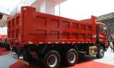 380 HP 25t 6X4 쓰레기꾼 트럭 25 톤 팁 주는 사람 덤프