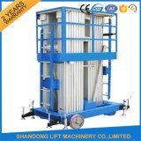 Piattaforma elettrica verticale dell'elevatore del rimorchio dei 8 tester