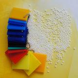 Plaque acrylique colorée chaude de matière première de la vente 100% excellente