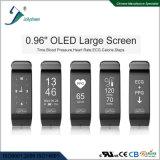 Le plus défunt modèle 2017 du ce sec de bracelet de santé de la pression sanguine ECG/PPG Bluetooth de fréquence cardiaque, RoHS, normes de FCC