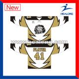 Hokey 2017 di ghiaccio di vendita caldo del banco di sublimazione degli abiti sportivi di Healong Jersey