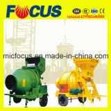 Jzc350 Tipo caliente del tambor rotatorio de la venta mezclador concreto