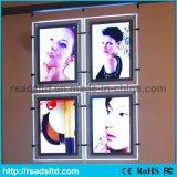 Annonçant le cadre acrylique en cristal d'éclairage LED avec du ce RoHS reconnu