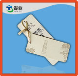Custom Paper Cardboard Garment Hang Tags com String