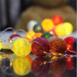 Красочные RGB 2m20LED светодиодный индикатор шарового шарнира хлопка Декоративное освещение