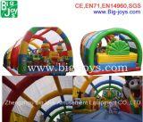 Frucht-Entwurfs-Kind-aufblasbares Prahler-Plättchen, aufblasbarer Spielplatz mit Regen-Deckel (B-F18)