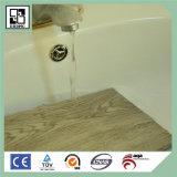 Suelo de madera de madera de plástico de vinilo de la mirada del suelo del PVC