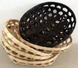 Barato preço dos ovos Oval/Pão Cesto de bambu