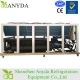 Compressor de parafuso 300kw Refrigerador de água refrigerado a ar / bomba de calor de fonte de ar