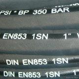 DIN 1sn flexible en caoutchouc hydraulique pour haute pression